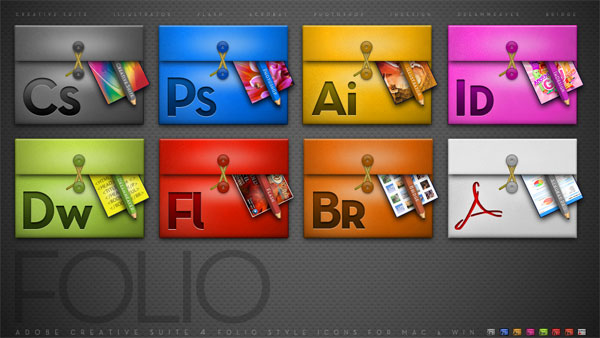 Serie Design-Software Adobe folder icon png