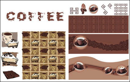 {Thema Kaffee} Vector Material