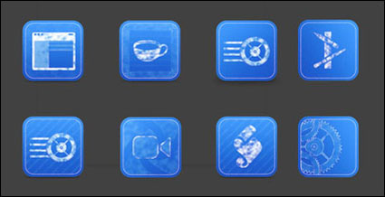Blue Print Icons png