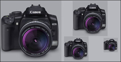 Canon 400D Lens (PNG + Icon)