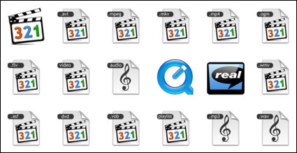 Audio-visuelle Medien PNG-Icon