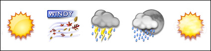 Wetter png-Symbol -4