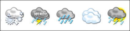 Wetter png-Symbol -6