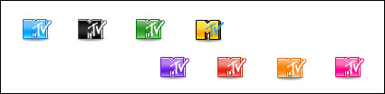 MTV Logo small icon png transparent