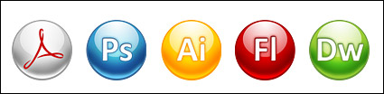 Adobe CS3-Software-Symbol, png